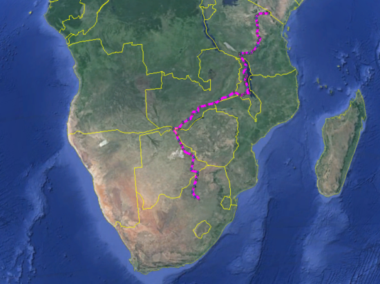 Joburg2Kili Route Plan