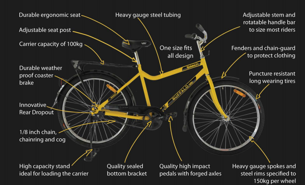 Qhubeka-Bicycle