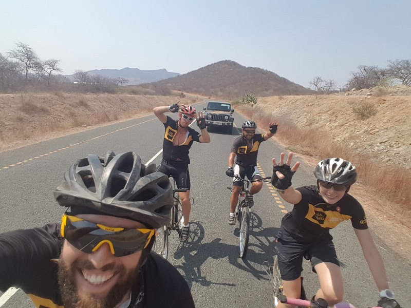 Cycling through Masai land to Dodoma