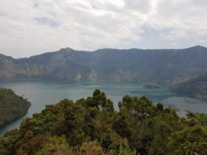 View of Ngozi Crater Lake