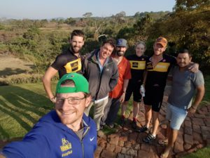 Joburg2Kili Team with Rob from Rugwe Avocado Farm