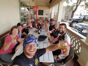 Celebrating riding 4650km from #Joburg2Kili for Qhubeka (powered by Tarsus)