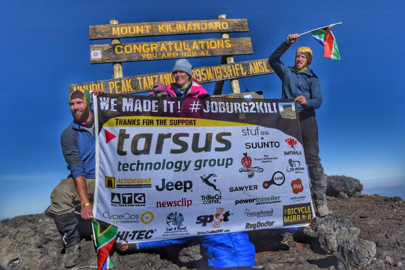 Joburg2Kili Cyclists successfully summit Mount Kilimanjaro