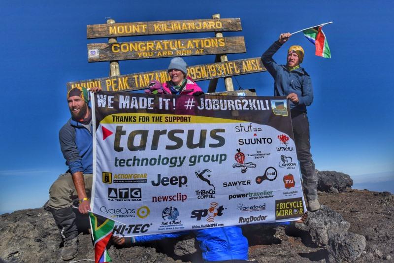 Joburg2Kili Cyclists successfully summit Mount Kilimanjaro
